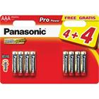 Panasonic LR03 8BP AAA Pro Power alk